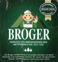 Metzgerei Broger