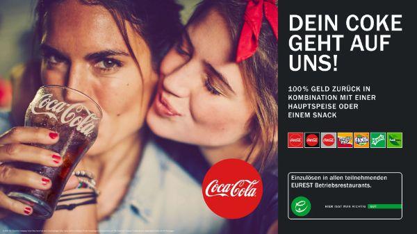 Coke Getränk bei EUREST