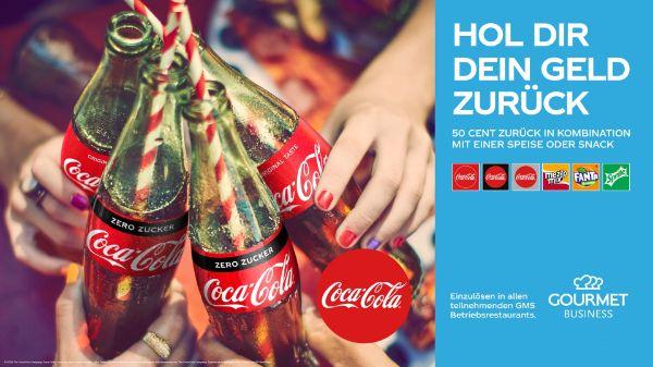 Coke Getränk bei GMS