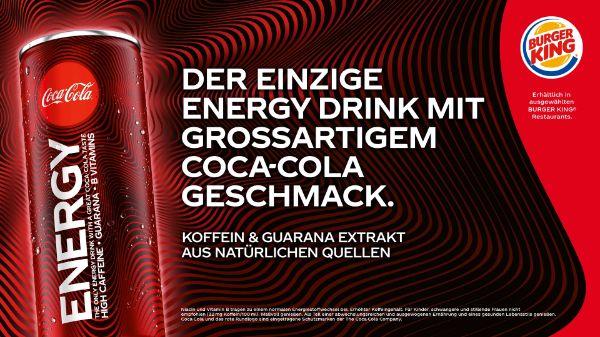 Coke Energy bei BURGER KING®