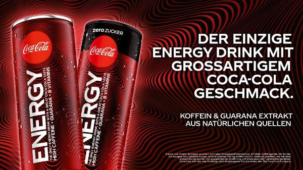 Coke Energy bei BILLA & MERKUR