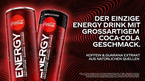 Coke Energy bei BILLA & MERKUR