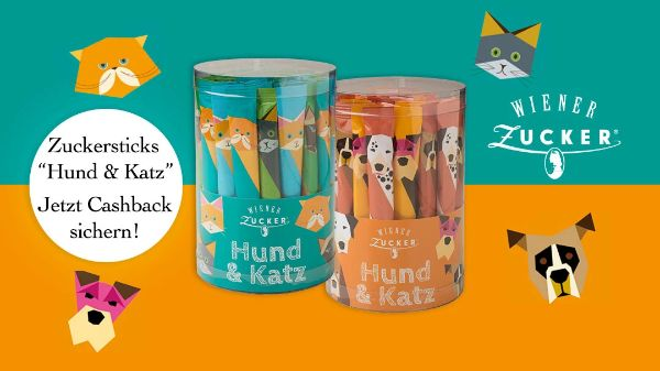 "Zuckersticks ""Hund & Katz"""