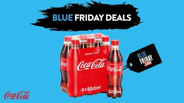 Coca-Cola 0.5l PET 3+3 - Blue Friday Deal