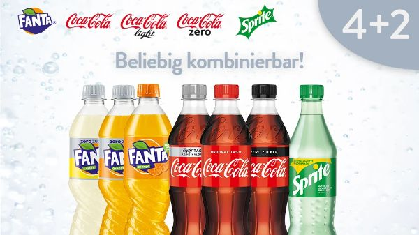 Coca-Cola/Fanta/Sprite 4+2 Deal