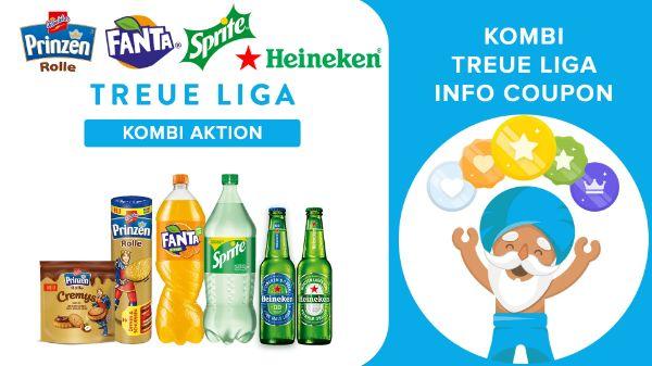 TREUE LIGA Supermarkt Kombi Info Coupon