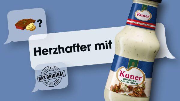 Kuner Kräuter Knoblauch Sauce