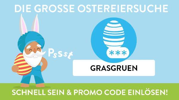 DIE GROSSE OSTEREIERSUCHE - Promo Code