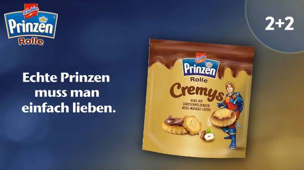 Prinzenrolle Cremys 2+2