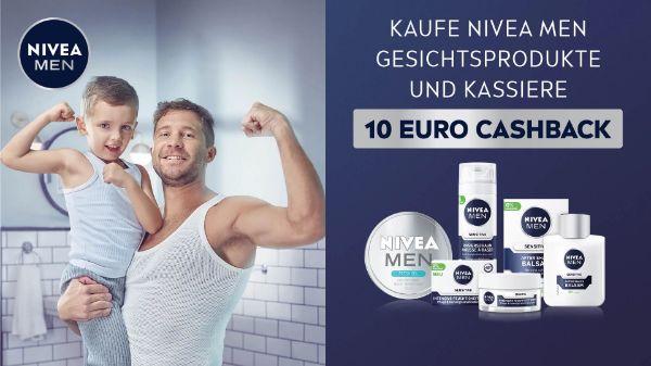 NIVEA MEN Gesichtspflege €20,- Warenkorb