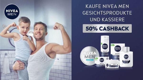 NIVEA MEN Gesichtspflege- 2 Produkte