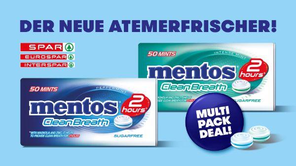 mentos Clean Breath Multipack Deal