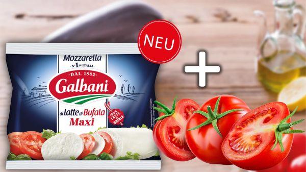 Galbani Mozzarella + Tomaten Kombi-Deal