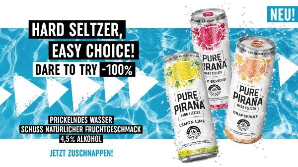 Pure Piraña bei INTERSPAR & INTERSPAR Online Shop