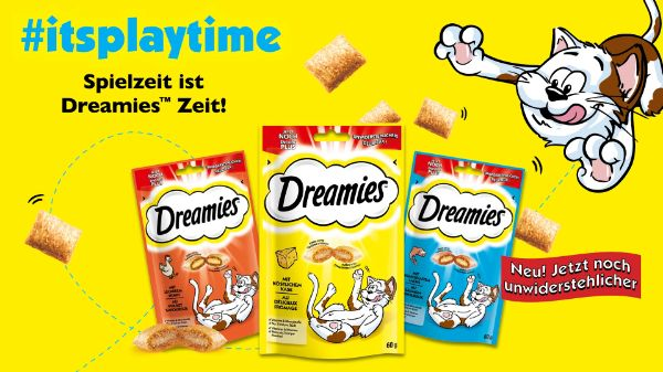 Dreamies Katzen Snacks