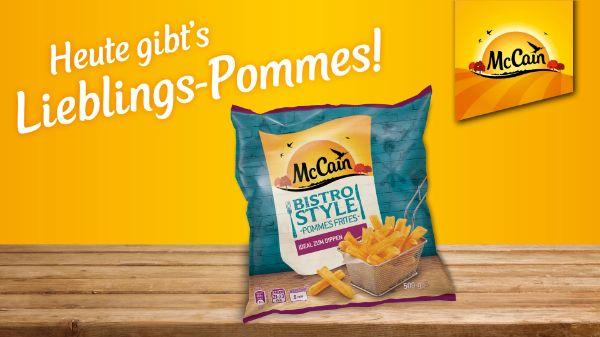 Bistro Style Pommes von McCain