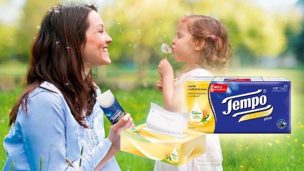 Tempo soft&sensitive Taschentücher und Boxen