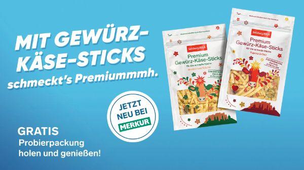 SalzburgMilch Gewürz-Käse-Sticks