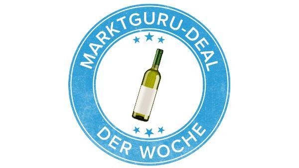 Flasche Weißwein