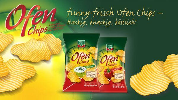 funny-frisch Ofen Chips