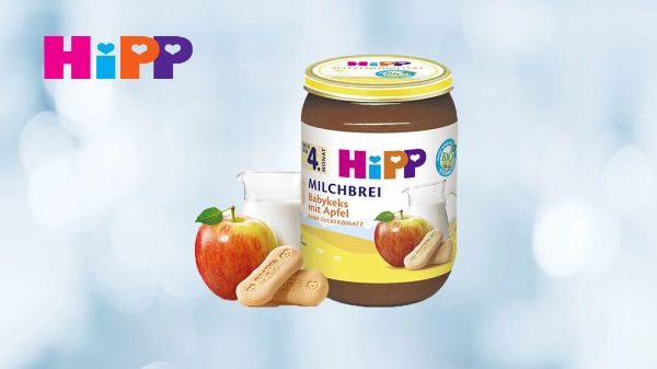 Hipp Babynahrung im Glas