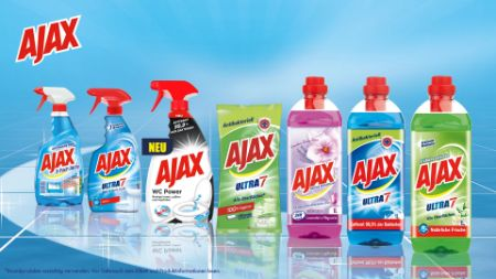 AJAX WC Power Spray & 1 AJAX Produkt