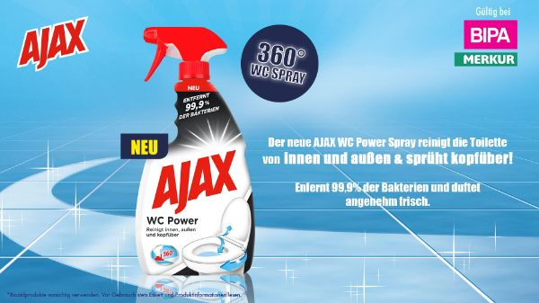 AJAX WC Power Spray