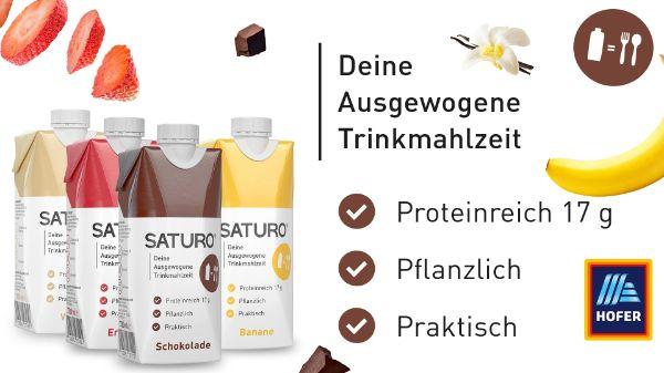SATURO Trinkmahlzeit to go