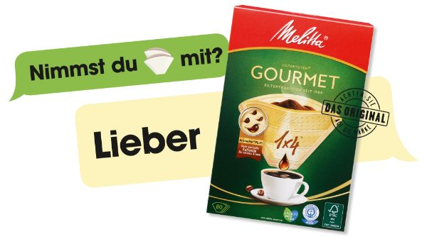 Melitta Gourmet® Filtertüten®