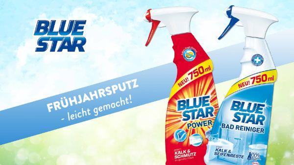 Blue Star Power und Blue Star Badreiniger