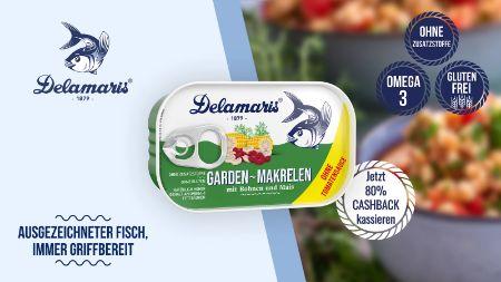 Delamaris GARDEN Makrelen mit Gemüse
