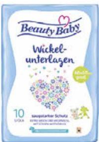 Einmal-Wickelunterlagen von Beauty Baby