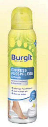 Express Fußpflegeschaum von Burgit