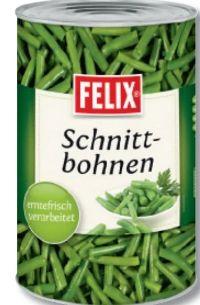 Schnittbohnen von Felix