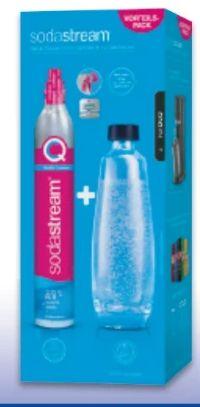 Kohlensäure-Reservezylinder von Sodastream