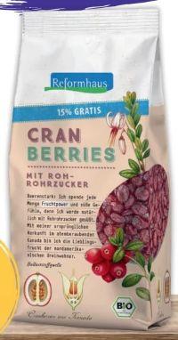 Cranberries von Reformhaus
