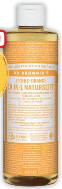 Bio Flüssigseife von Dr. Bronners