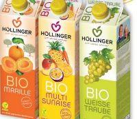 Bio-Säfte von Höllinger