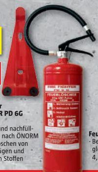 Universal-Feuerlöscher PD 6 G von Fire Fighter
