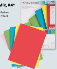 Farbpapier-Mix von United Office