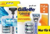 Rasierer + Ersatzklingen von Gillette