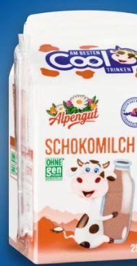 Schokomilch von Alpengut