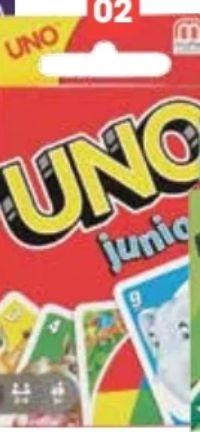 Uno Junior von Mattel