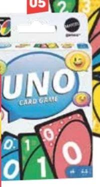 Uno Iconic Premium von Mattel