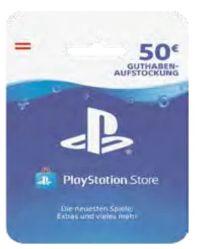 Store Guthaben-Karte von PlayStation 4