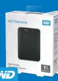 Festplatte Elements Portable von Western Digital