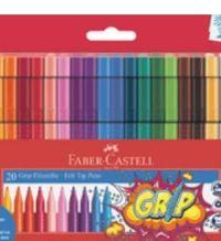 Fasermaler Grip Colour Marker von Faber Castell