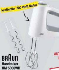 Handmixer HM 5000 WH von Braun