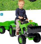 Traktor Jim Loader mit Trailer von Big Spielwarenfabrik
