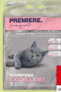 Katzenstreu Excellent von Premiere Tiernahrung